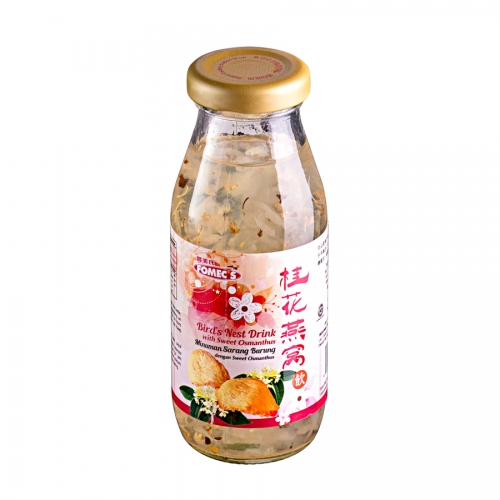 FOMEC's Bird's Nest Drink with Sweet Osmanthus