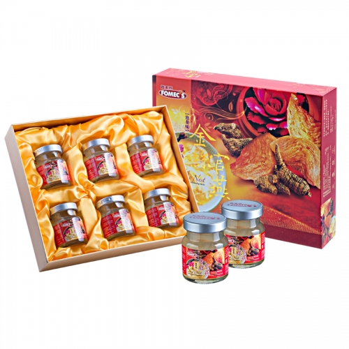 FOMEC's Superior Golden Bird's Nest with American Ginseng Taste