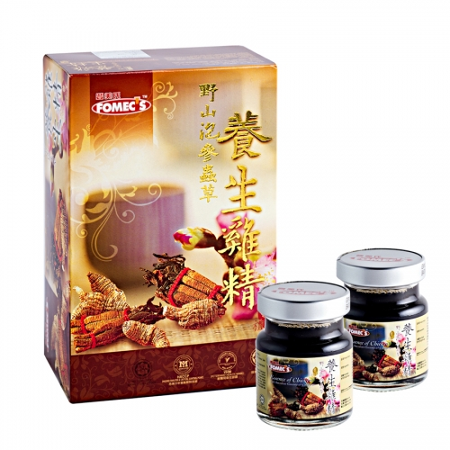 FOMEC's Essence of Chicken with American Ginseng & Cordyceps